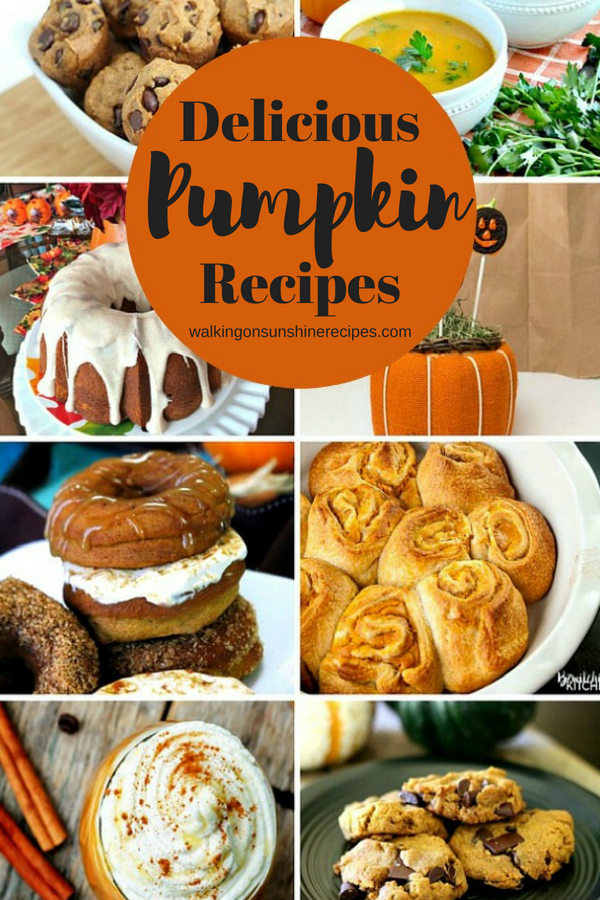 Delicious Pumpkin Recipes are featured this week with Delicious Dishes Recipe Party #42.