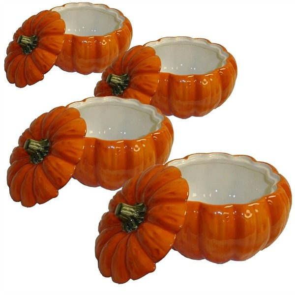 Pumpkin Soup Bowls featured on Walking on Sunshine