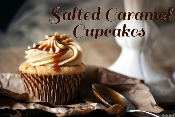 Salted Caramel Cupcakes from Pass the Sushi