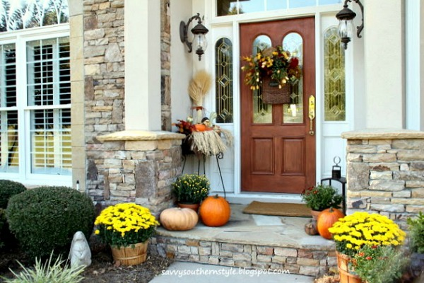 Small Porch Decorating from Savvy Southern Style