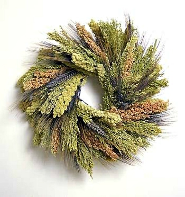 Tapestry Bird Wreath