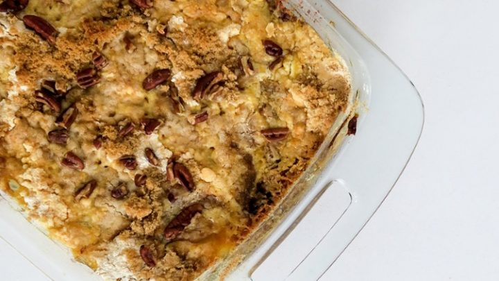 Apple Dump Cake Easy And Delicious Walking On Sunshine Recipes