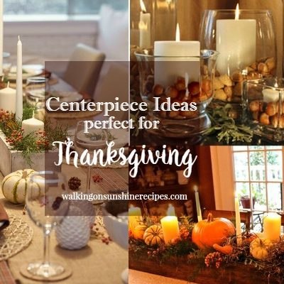How to Create Simple Centerpieces for your Thanksgiving Celebration