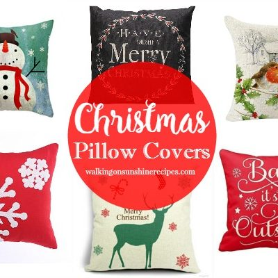 How to Decorate for Christmas with Pillow Covers