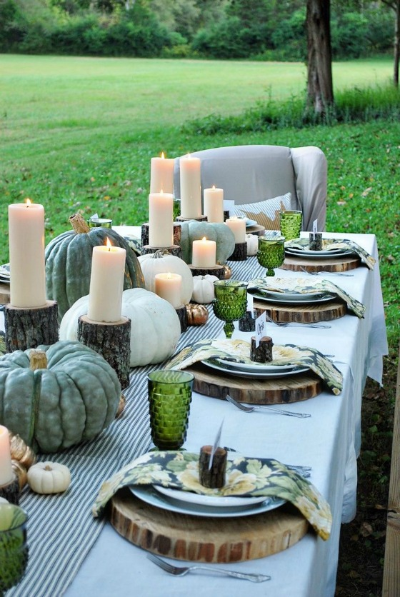 Classic Tablescape featured on The Glamorous Housewife