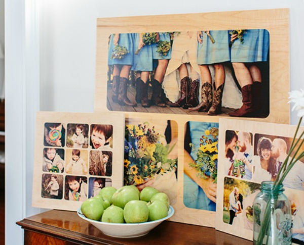 PhotoBoard Collages make great gifts featured on Walking on Sunshine.