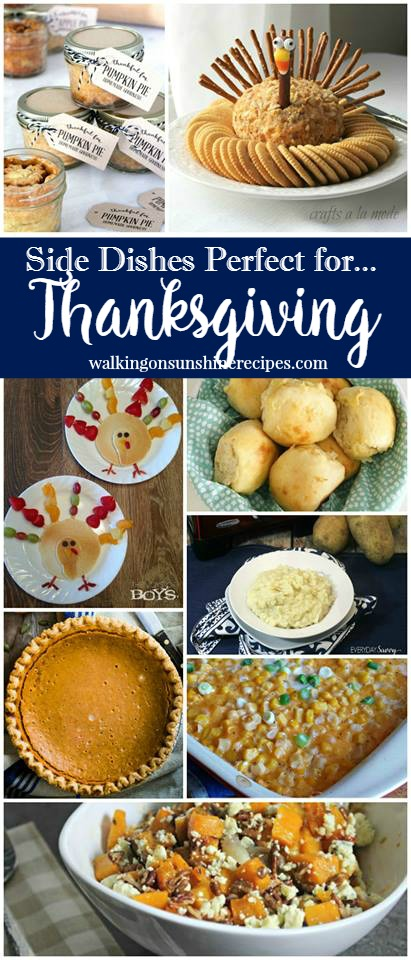 The Best Thanksgiving Side Dishes from Walking on Sunshine Recipes