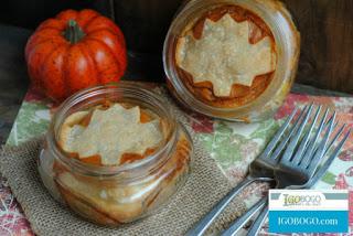 Pumpkin Pie in a Jar from IGOBO