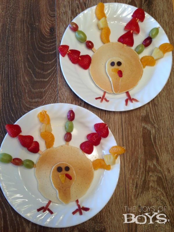 Turkey Pancakes from Joys of Boys