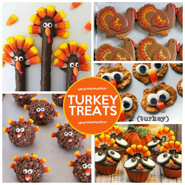 Turkey Treats from Kids Activities Blog
