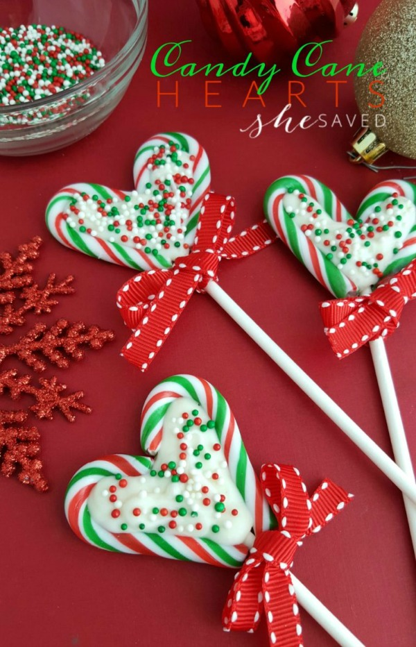 Candy Cane Hearts from She Saved