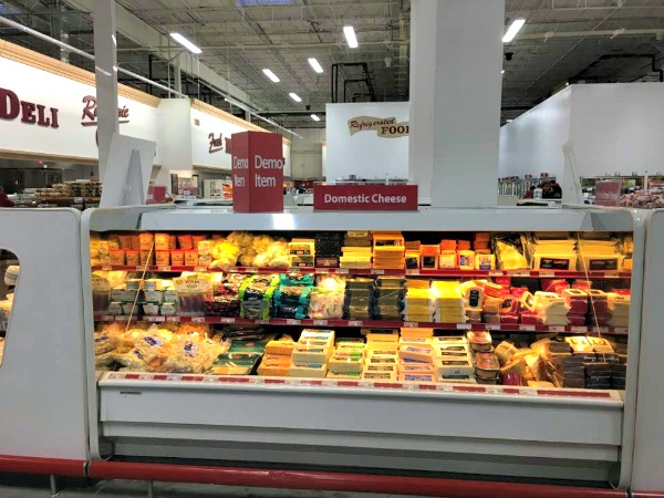 Cheeses available at BJ's Wholesale Club featured on Walking on Sunshine Recipes