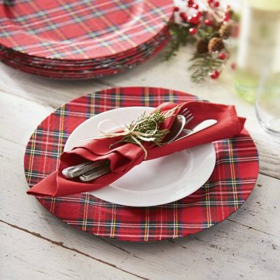 Ideas for Decorating with Red Plaid for Christmas and Winter