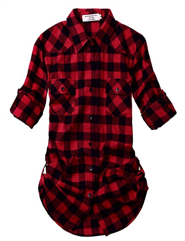 Christmas Plaid shirt