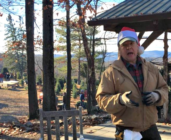 the owner of the Christmas tree farm.
