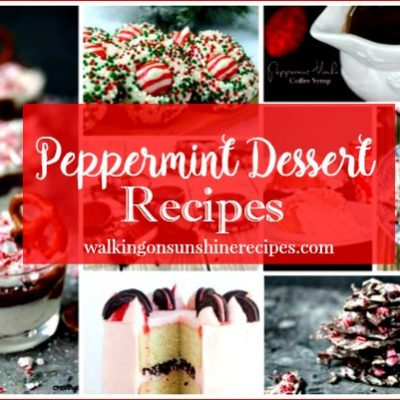 Peppermint Recipes:  Delicious Dishes Desserts and Candy