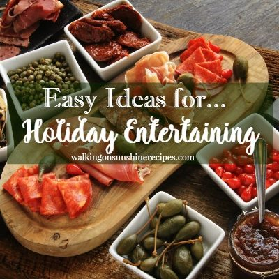 Easy Ideas for Holiday Entertaining