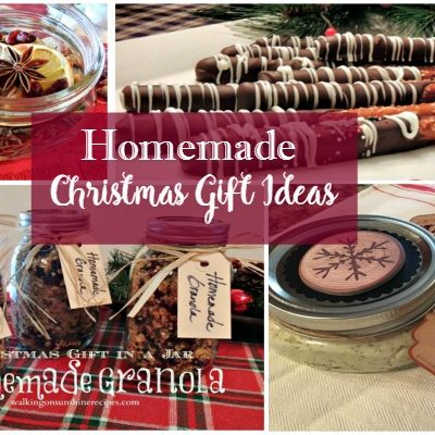 Last Minute Ideas for Homemade Christmas Gifts