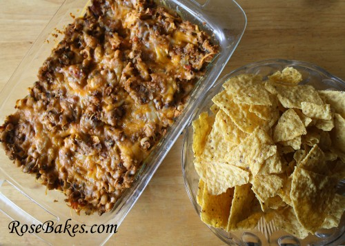 Hot Black Eyed Pea Dip from Rose Bakes