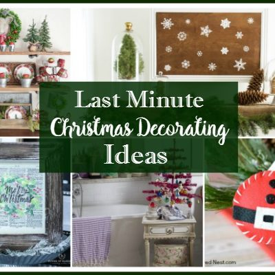 Last Minute Christmas Decorating Ideas – Foodie Friends Friday