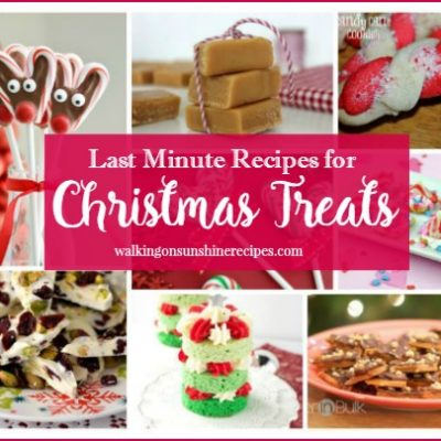 Last Minute Christmas Treats – Delicious Dishes Recipe Party 50