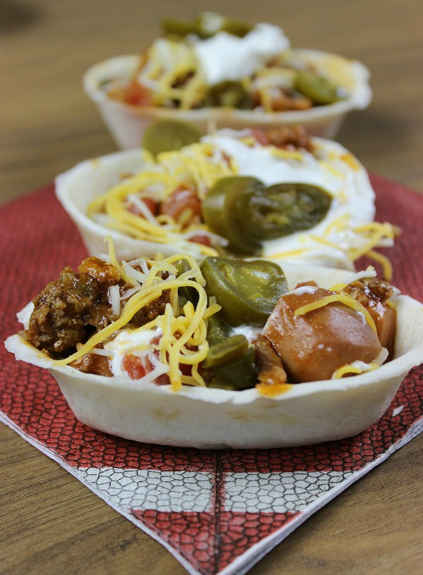 Chili Dog Taco Boats from Just 2 Sisters