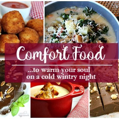 Party: Comfort Food to Warm your Soul on a Cold Wintry Night
