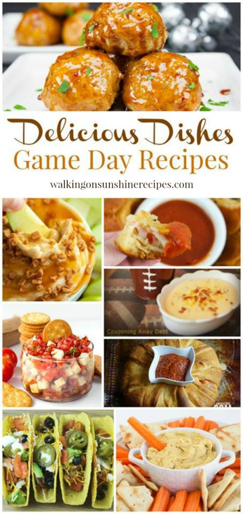 Party: Game Day Recipes and Snacks from Walking on Sunshine.