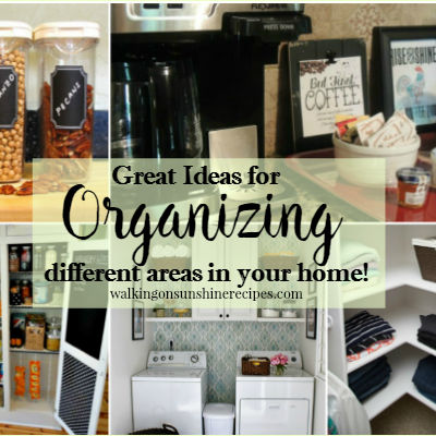 Great Ideas for Organizing your Home