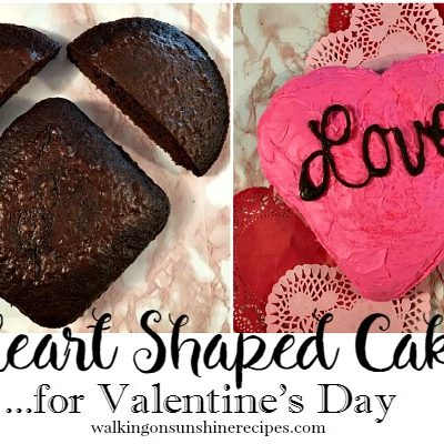 How to Make a Heart Shaped Cake for Valentine's Day
