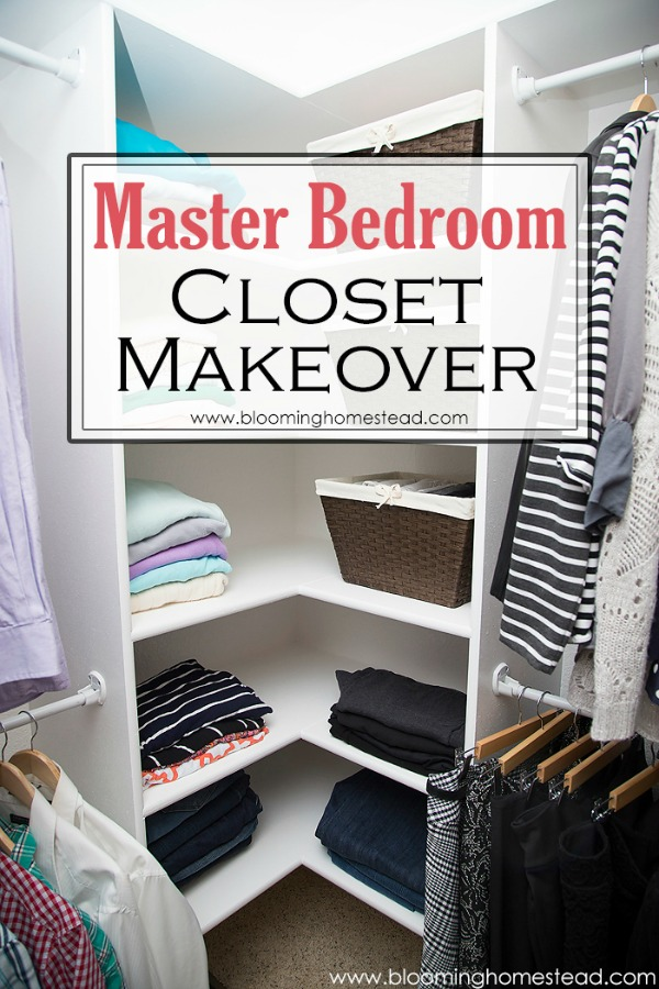Master Closet Makeover from Blooming Homestead