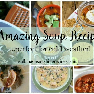 Party:  Amazing Soup Recipes and Delicious Dishes Recipe Party