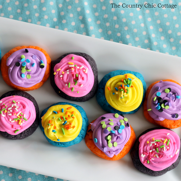 Spring Cake Mix Cookies from The Country Chic Cottage
