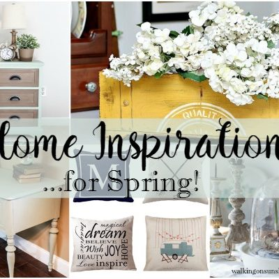 Party:  Home Inspiration Ideas for Spring – Foodie Friends Friday