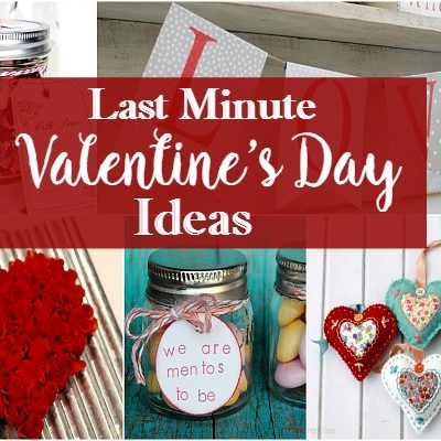Holidays: Last Minute Valentine's Day Recipes and Ideas