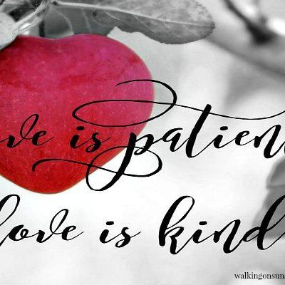 1 Corinthians 13 Scripture Sunday