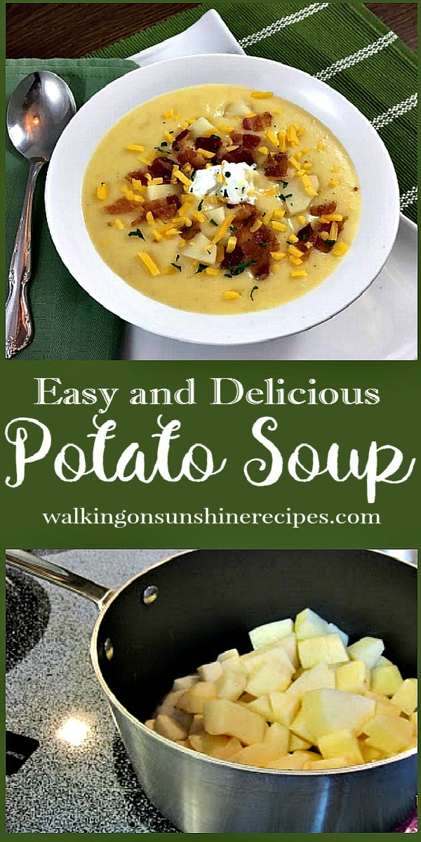 Loaded Potato Soup Recipe from Walking on Sunshine Recipes.