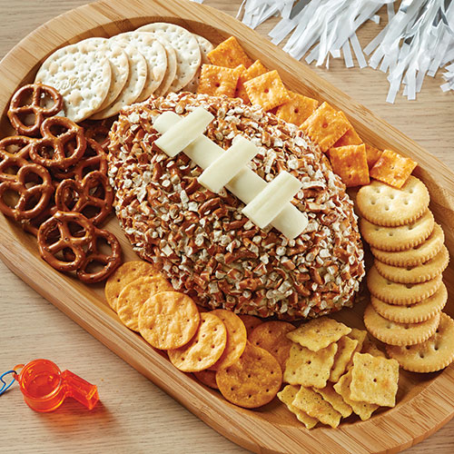Pretzel and Cheese Football featured on Walking on Sunshine