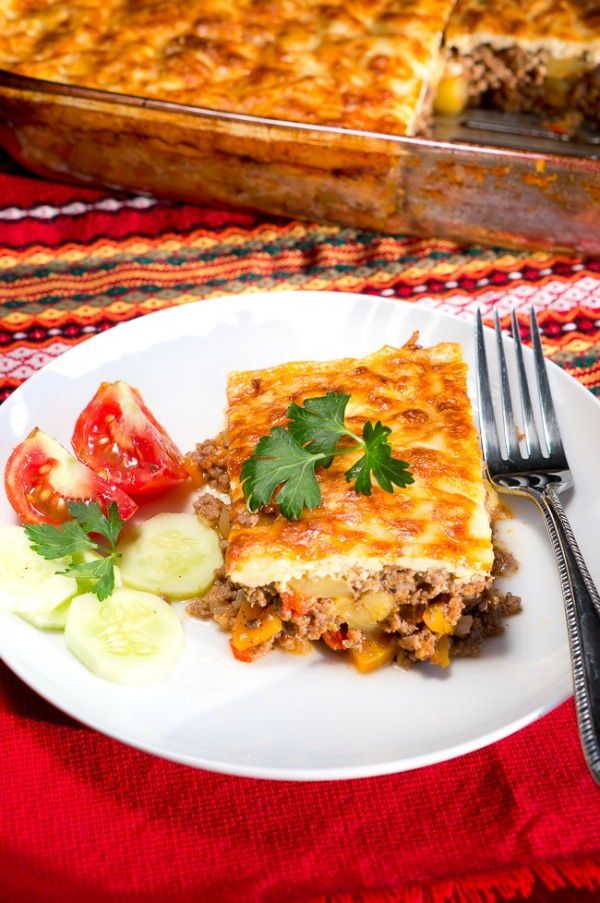 Simple Moussaka from Delicious Meets Healthy