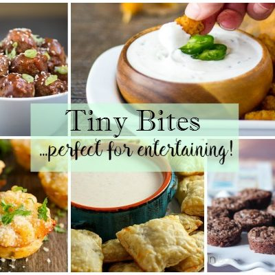 Party:  Tiny Bites Perfect for Entertaining