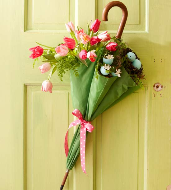 Umbrella Spring Door from BHG