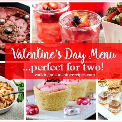 Holidays:  Valentine's Day Menu Perfect for Two