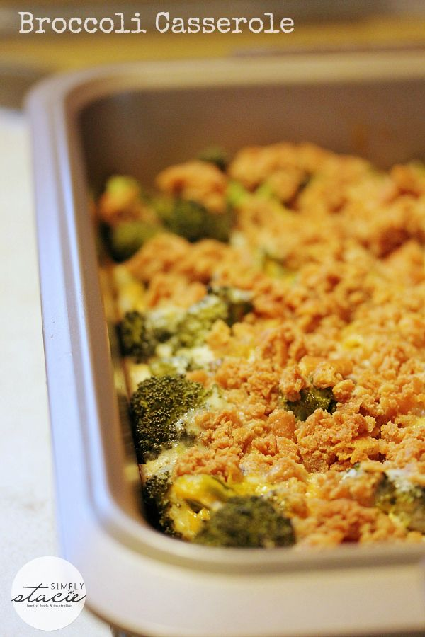 Broccoli Casserole from Simply Stacie