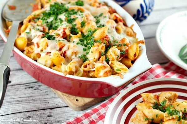 Cheesy Chicken Casserole from Living Sweet Moments