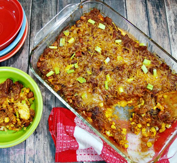Cowboy Brisket Casserole from The Tip Toe Fairy