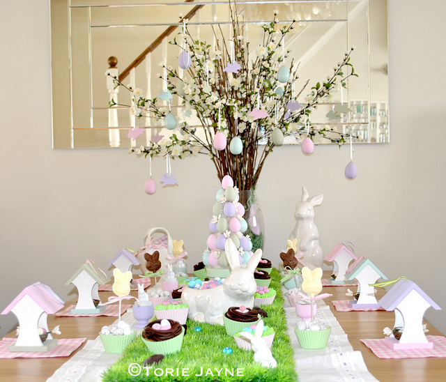 My 'Country Garden' Easter table
