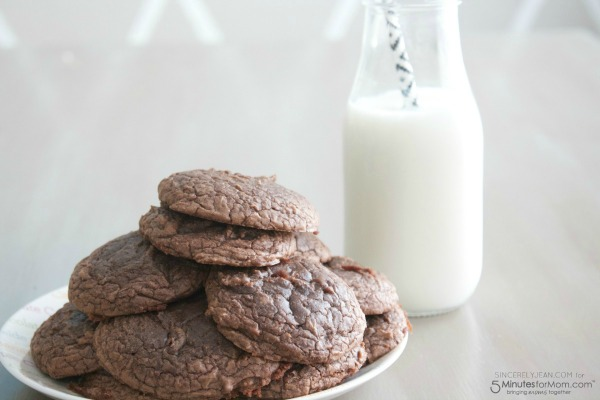 Brownie Cookies from 5 Minutes for Mom