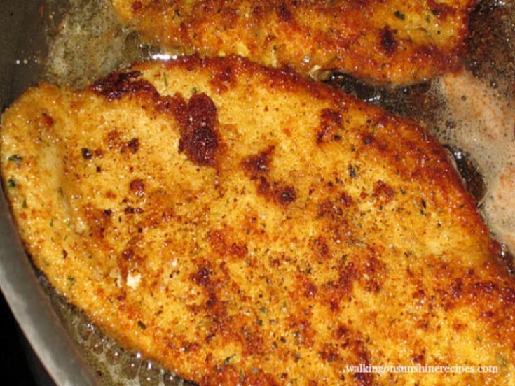 Breaded Chicken Cutlets - Italian Style