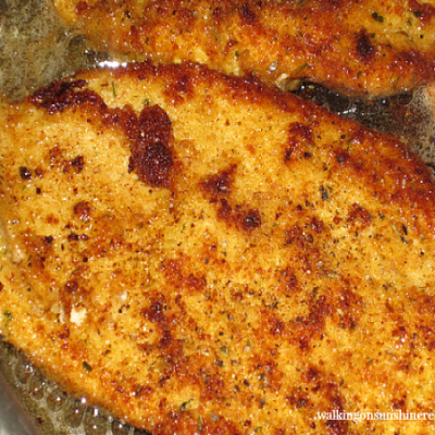 Breaded Chicken Cutlets – Italian Style