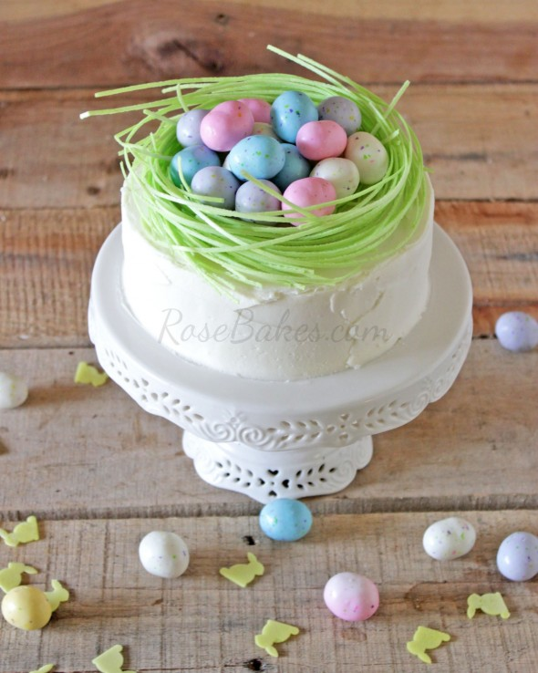 Easter Egg Nest Cake from Rose Bakes